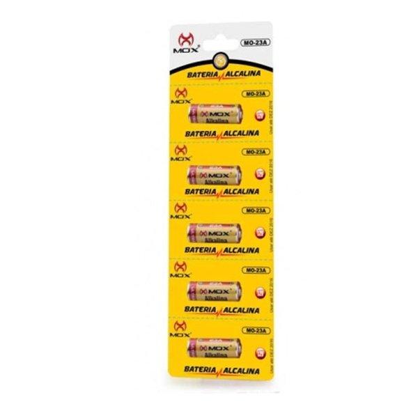 bateria alcalina 23a mox com 5 unid 36672 2000 196794