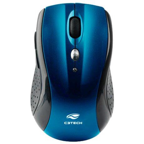 mouse sem fio 1600dpi m w012bl azul c3tech 44896 2000 193190