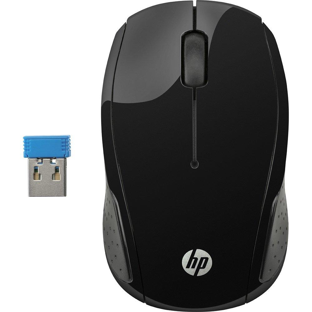 mouse sem fio hp x200 oman preto 44935 2000 193236