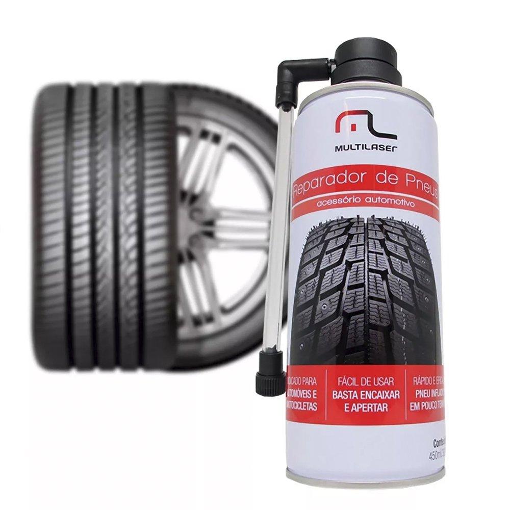 spray reparador instantaneo brindagem de furo pneu au400 multilaser 37805 2000 197067
