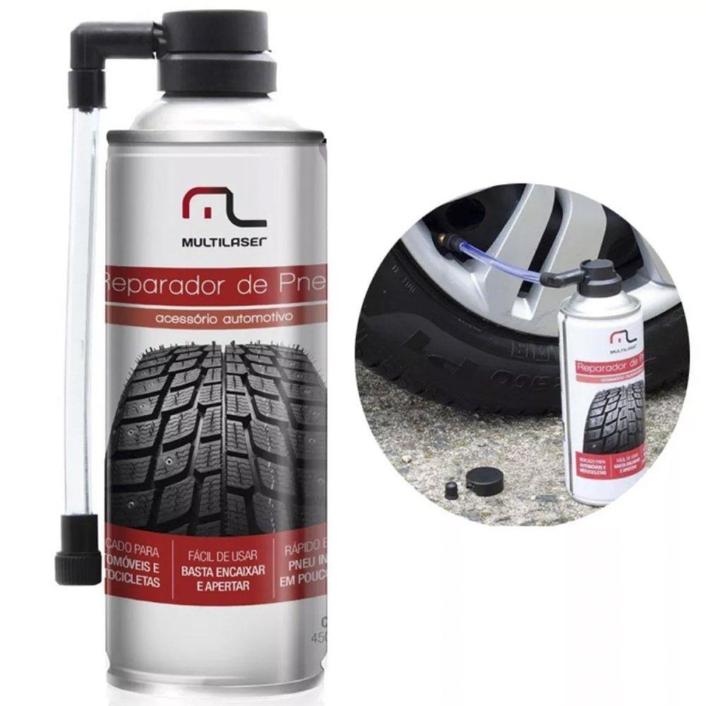 spray reparador instantaneo brindagem de furo pneu au400 multilaser 37805 2000 197068