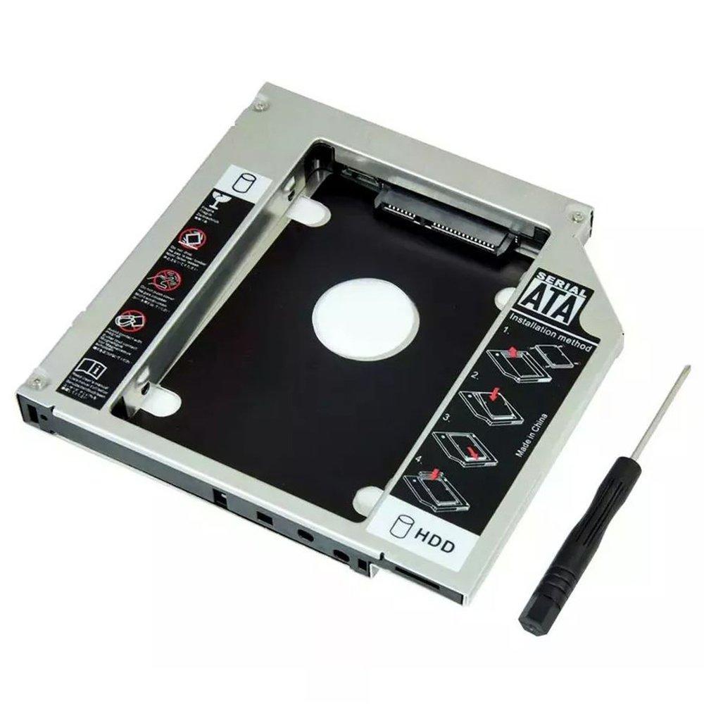 adaptador universal dvd para hd ou ssd caddy 95mm br 47335 2000 199155