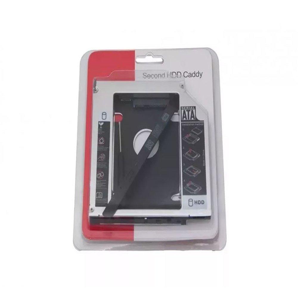 adaptador universal dvd para hd ou ssd caddy 95mm br 47335 2000 199156