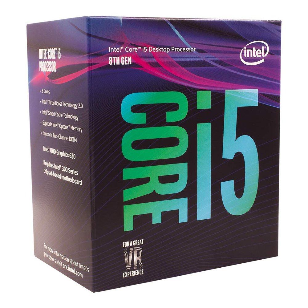 processador intel 1151 i5 8400 28ghz 9mb g8 com video 48042 2000 199123