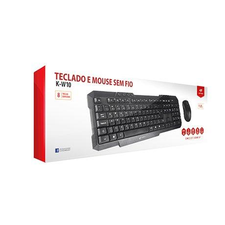 teclado e mouse sem fio c3 tech k w10bk preto 48718 2000 199463