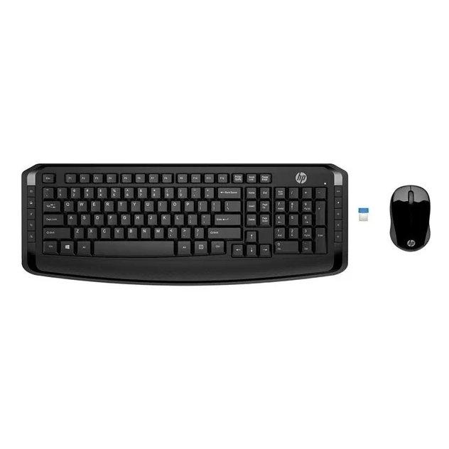 teclado e mouse sem fio hp 300 preto 48719 2000 199464