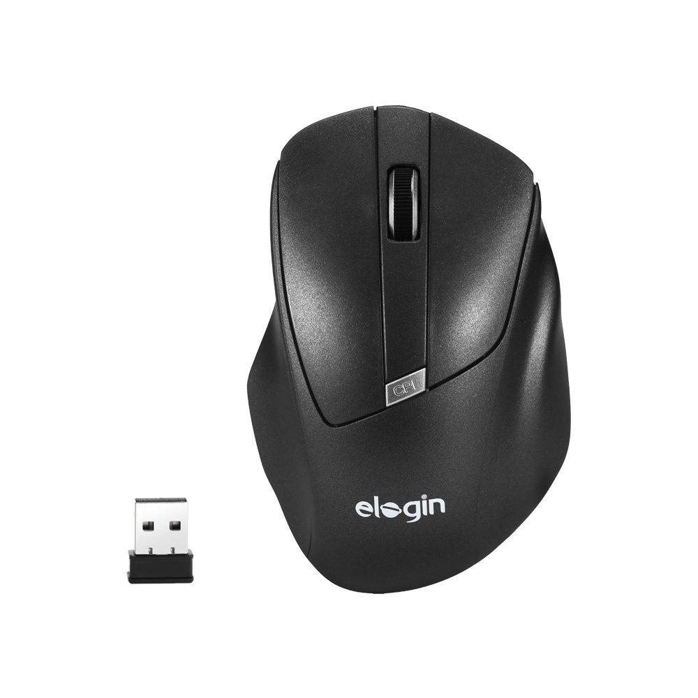 mouse sem fio 1600dpi moo2 elogin preto 49366 2000 200178