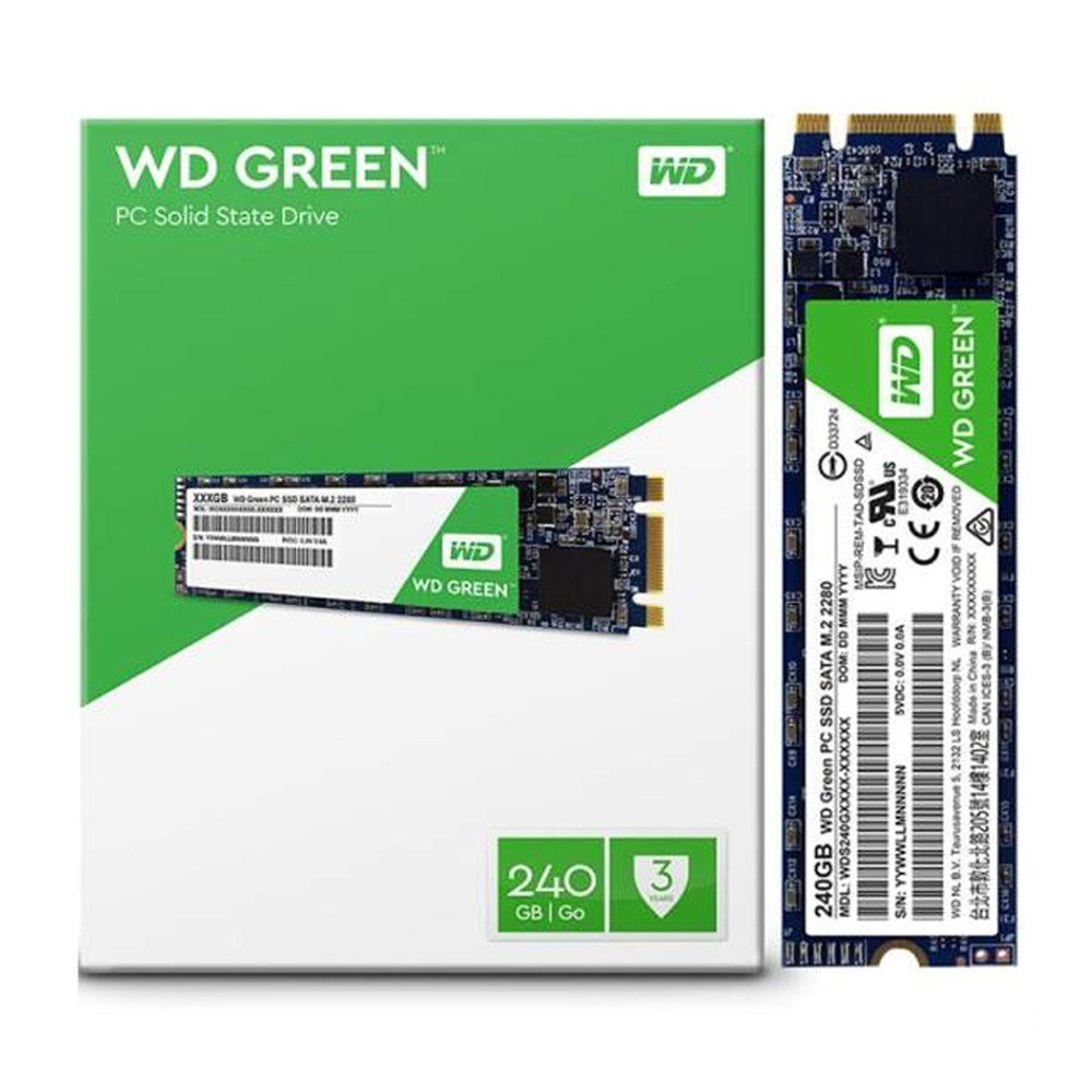 hd sata ssd m2 240gb wd green 2280 48734 2000 199573