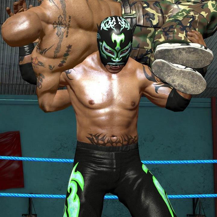 jogo ps3 lucha libre heroes del ring 5976 2000 75673