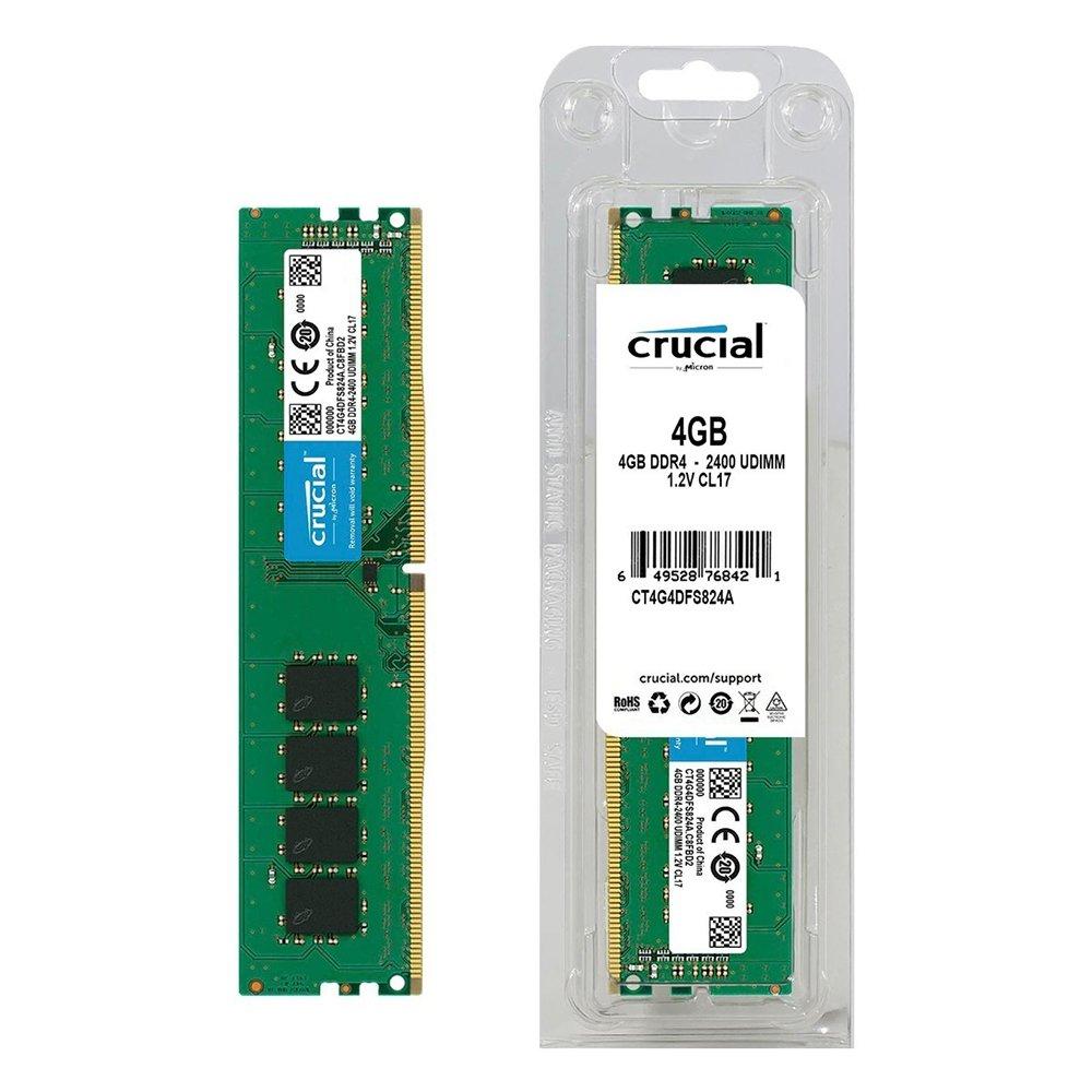 memoria ddr4 4gb pc2400 crucial 45510 2000 199310