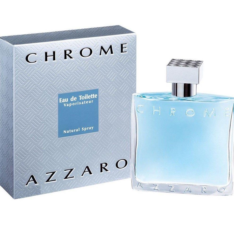 perfume azzaro chrome masculino edt 100 ml 5345 2000 43060