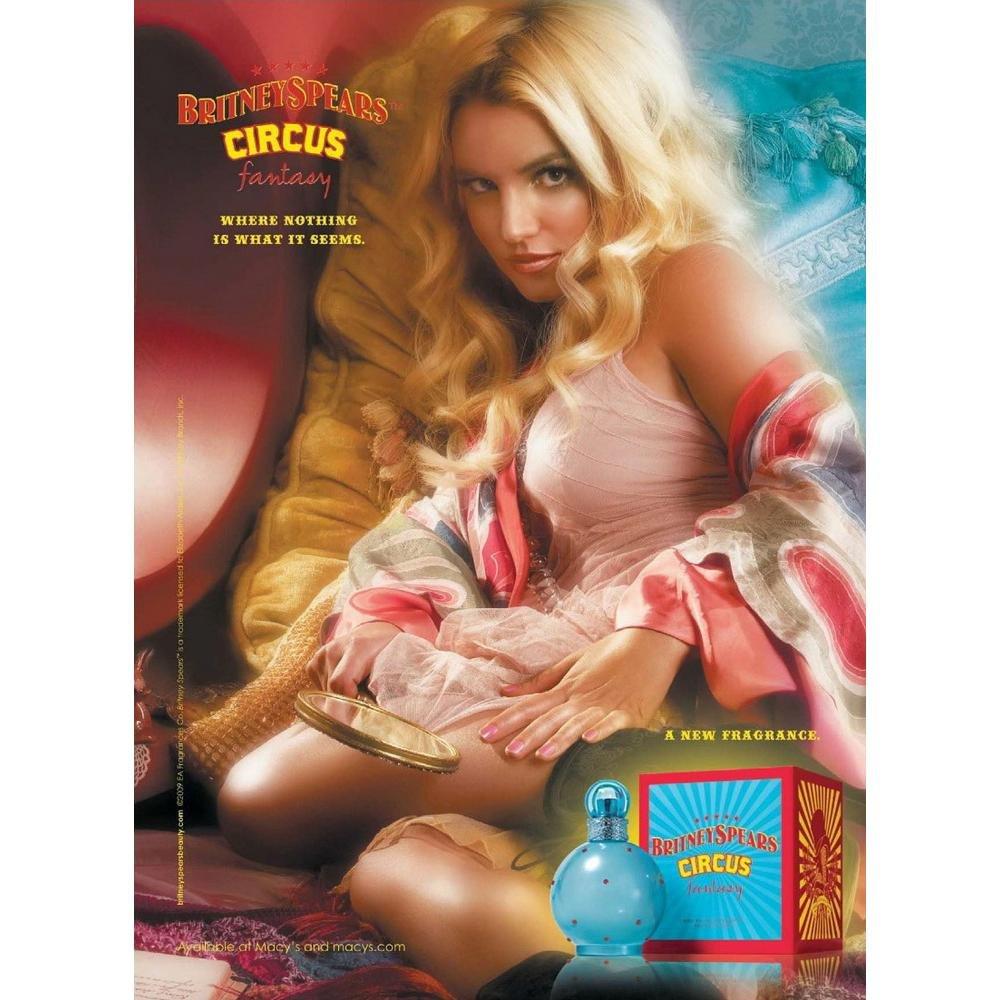 perfume britney spears circus feminino fantasy edp 100 ml 5746 2000 62105