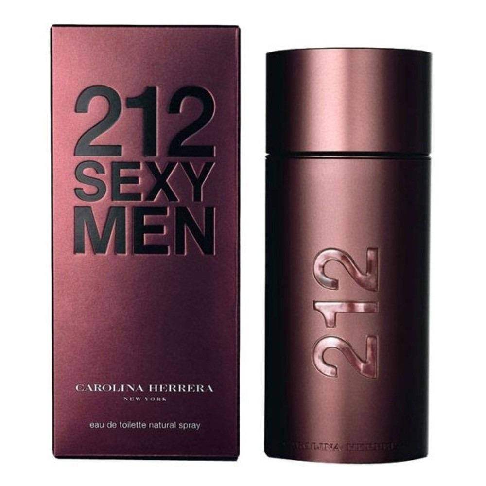 perfume carolina herrera 212 sexy men masculino edt 100 ml 4959 2000 43165