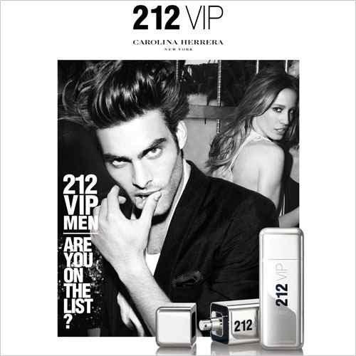 perfume carolina herrera 212 vip men masculino edt 100 ml 6622 2000 62567