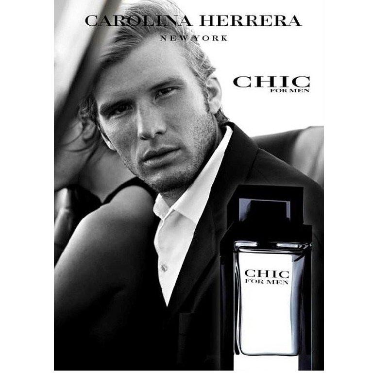 perfume carolina herrera chic masculino edt 100 ml 6147 2000 62623