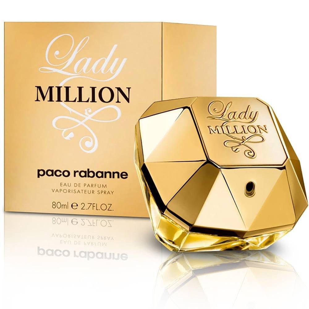 perfume paco rabanne lady million feminino edp 80ml 6149 2000 203722 2