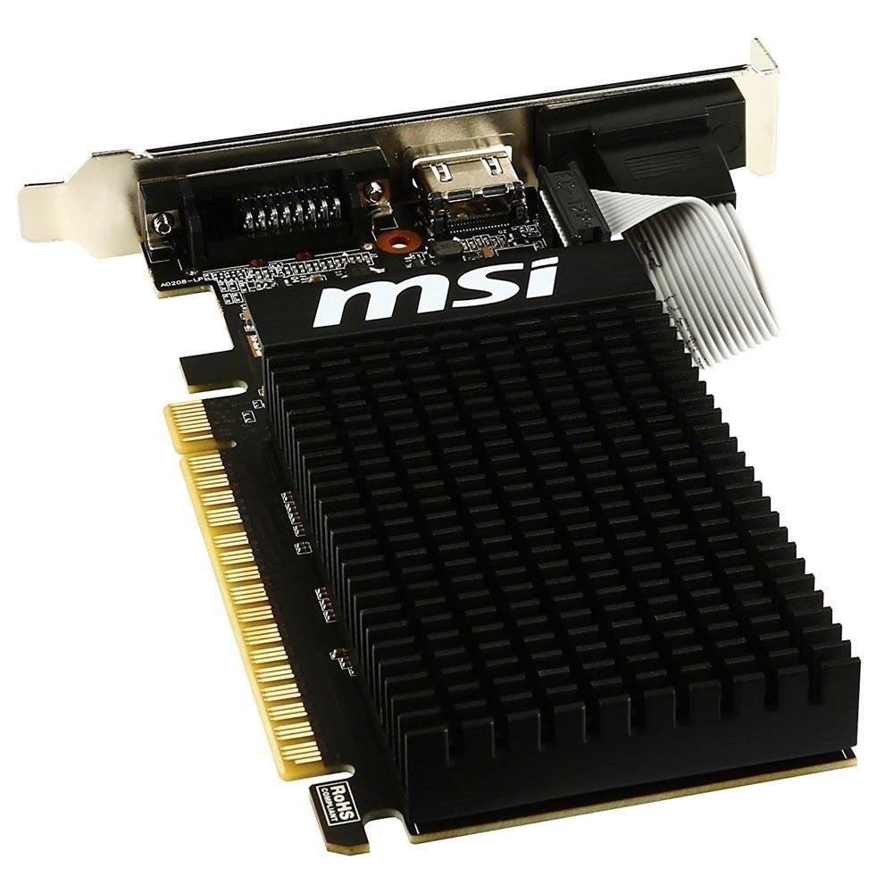 placa de video 1gb gf gt710 msi 954mhhz ddr3 37029 2000 202480