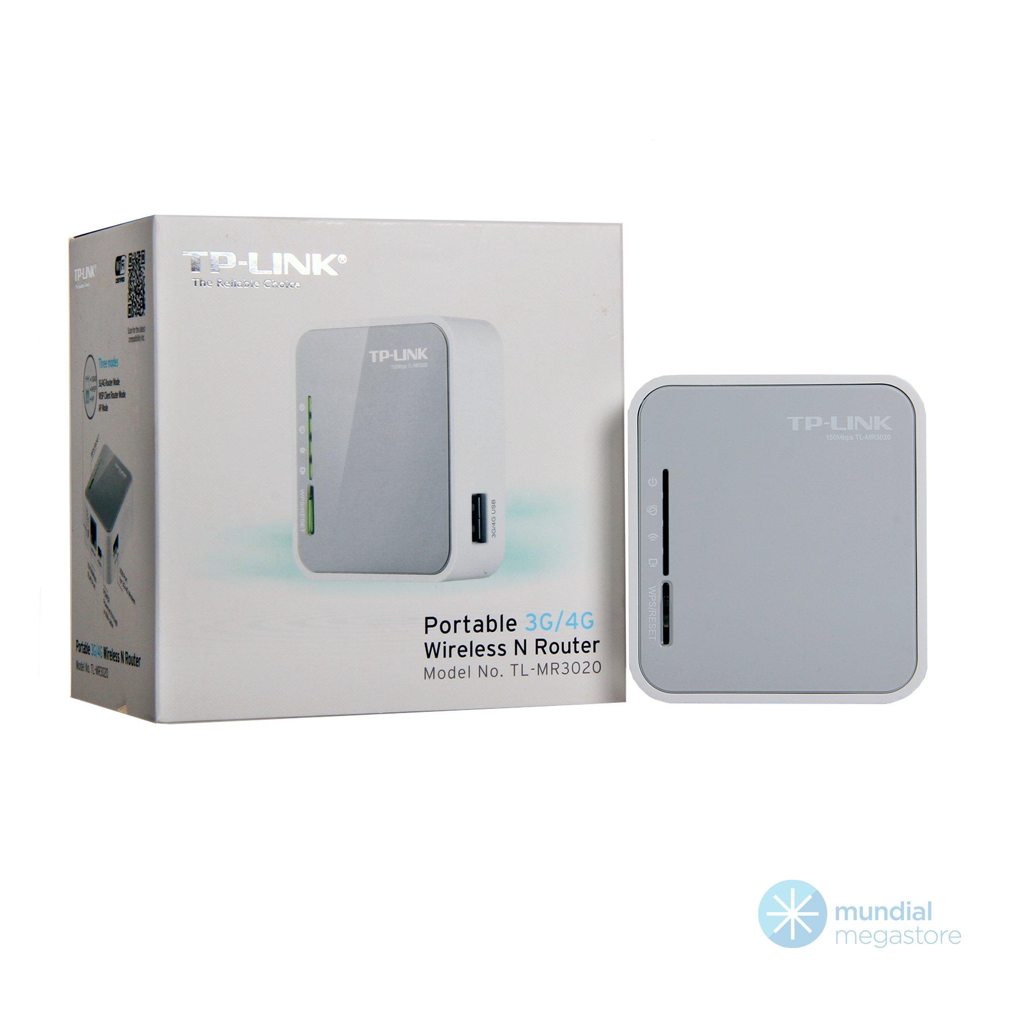wireless mini roteador portatil 3g 4g tp link tl mr3020 150mbps 45095 2000 195973