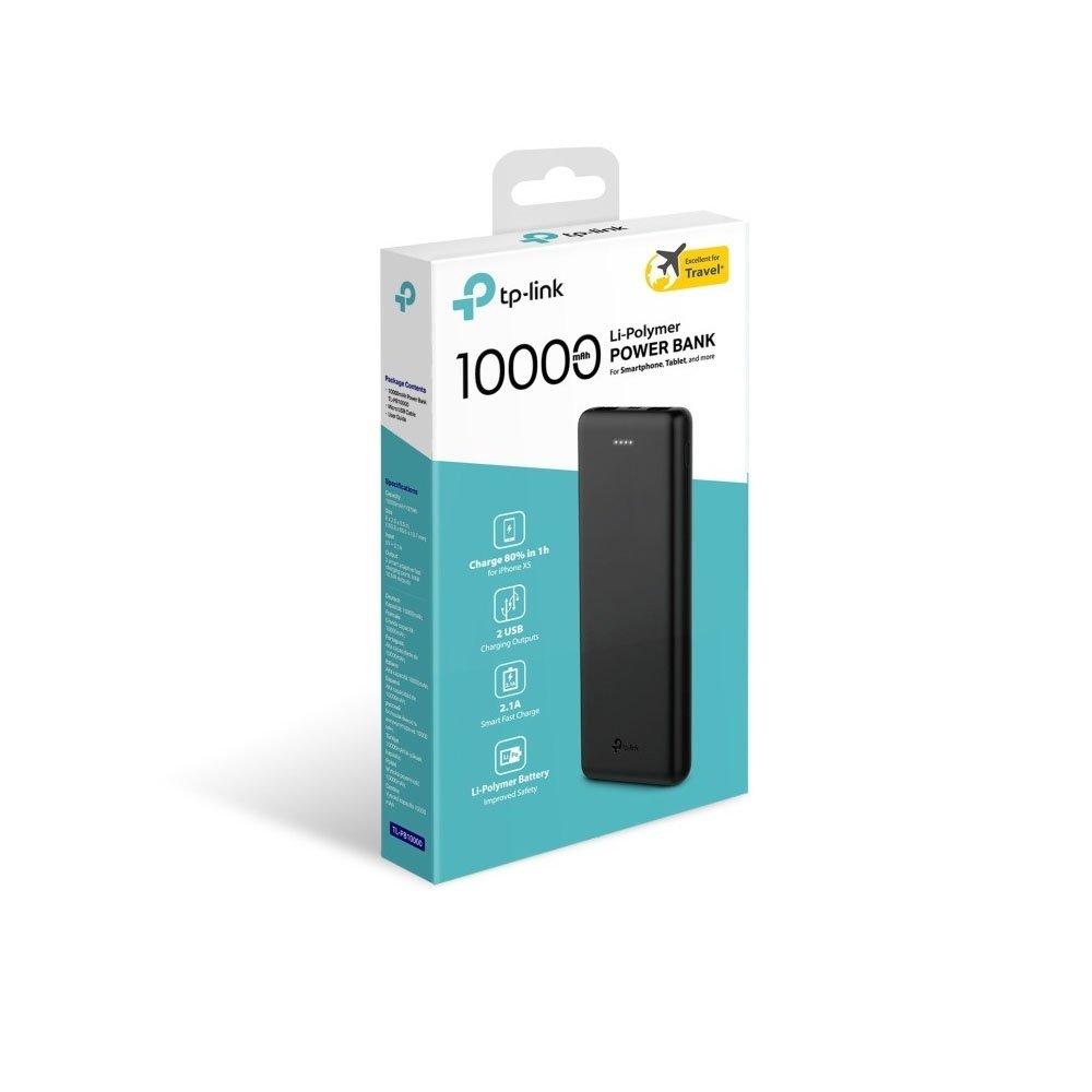 carregador portatil tp link tl pb10000mah power bank usb 49393 2000 200315