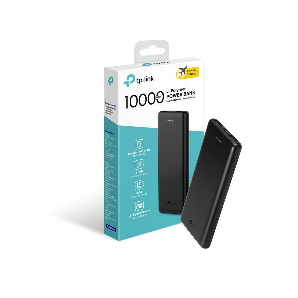 carregador portatil tp link tl pb10000mah power bank usb 49393 2000 201430
