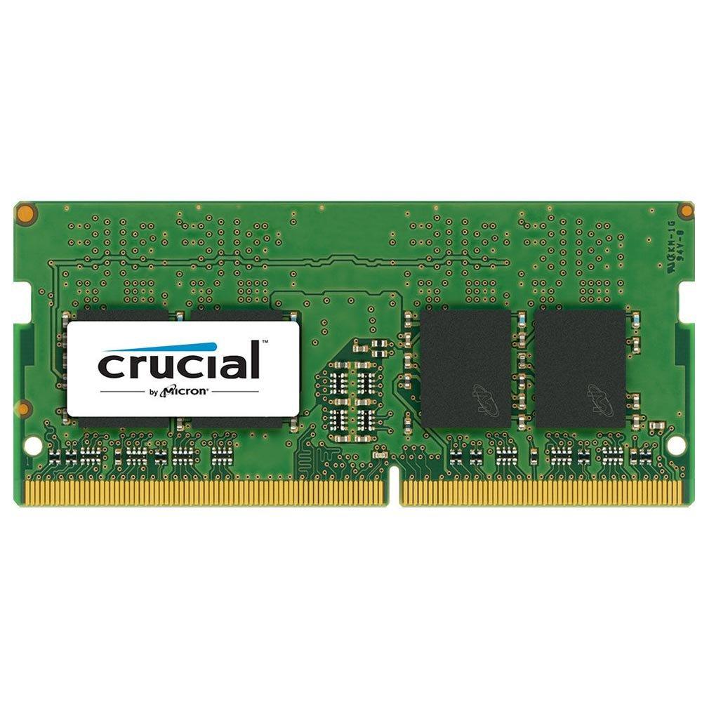 memoria notebook ddr4 4gb pc2400 crucial sodimm cl17 49407 2000 200470