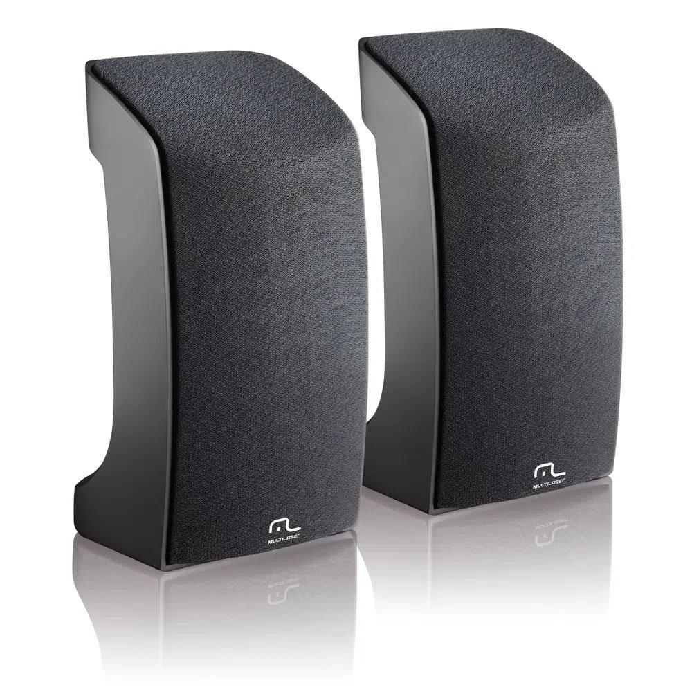 caixa de som multilaser usb 20 1w sp093 preta 50018 2000 201284
