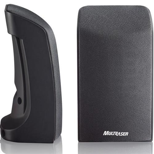 caixa de som multilaser usb 20 1w sp093 preta 50018 2000 201285