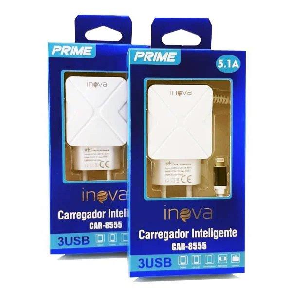 carregador rapido de celular iphone tomada inova azul 49662 2000 201986 3