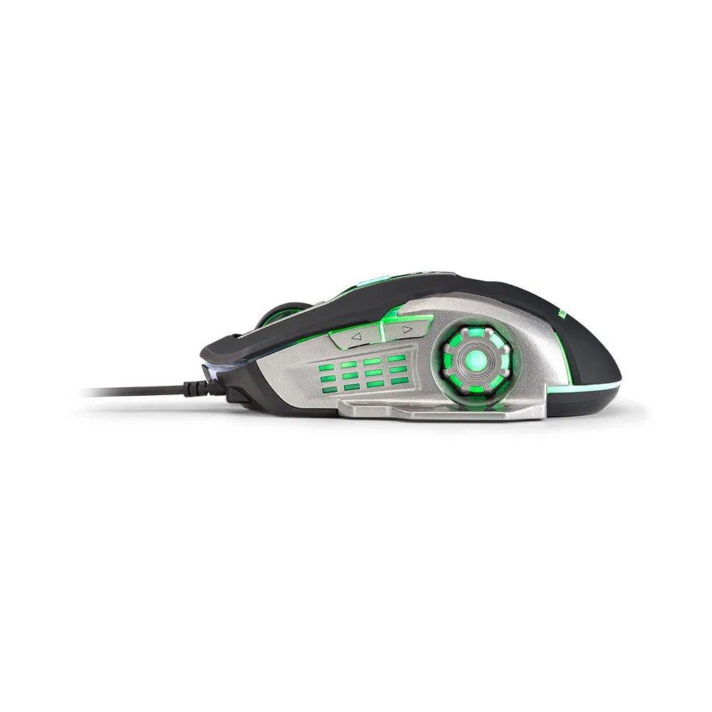 mouse usb gamer 2400dpi mo269 preto e cinza multilaser 49987 2000 201225