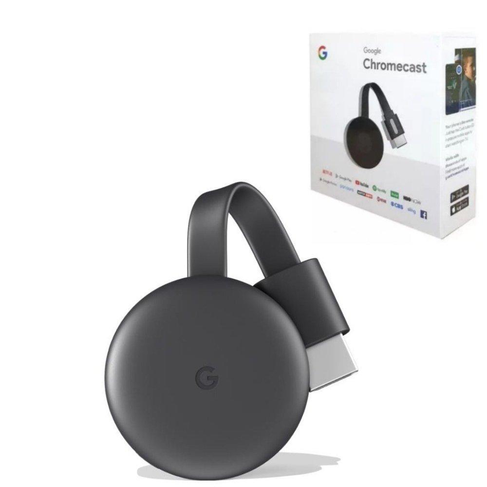 receptor conversor smart tv chromecast 3 1080p by google 48040 2000 199129