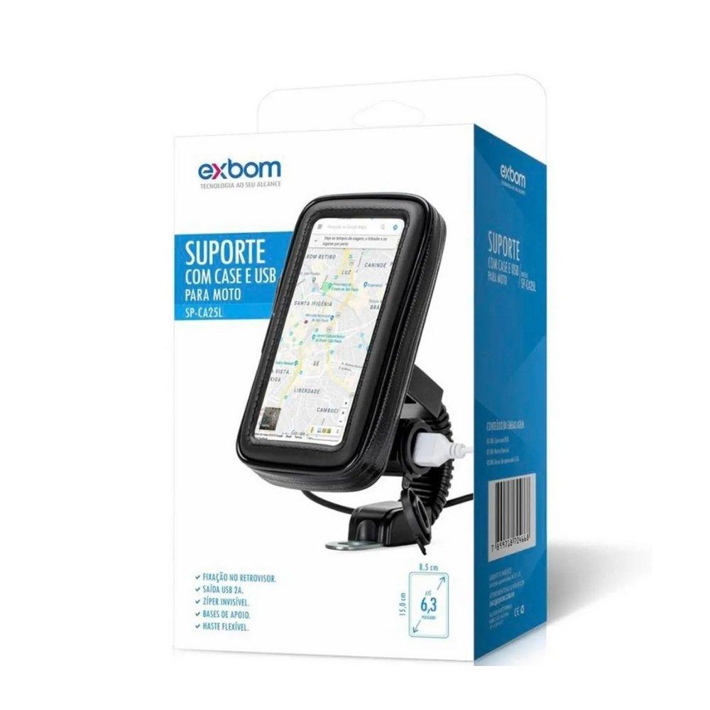 suporte universal de guidao moto para celular sp ca25l exbom 49798 2000 204254 3
