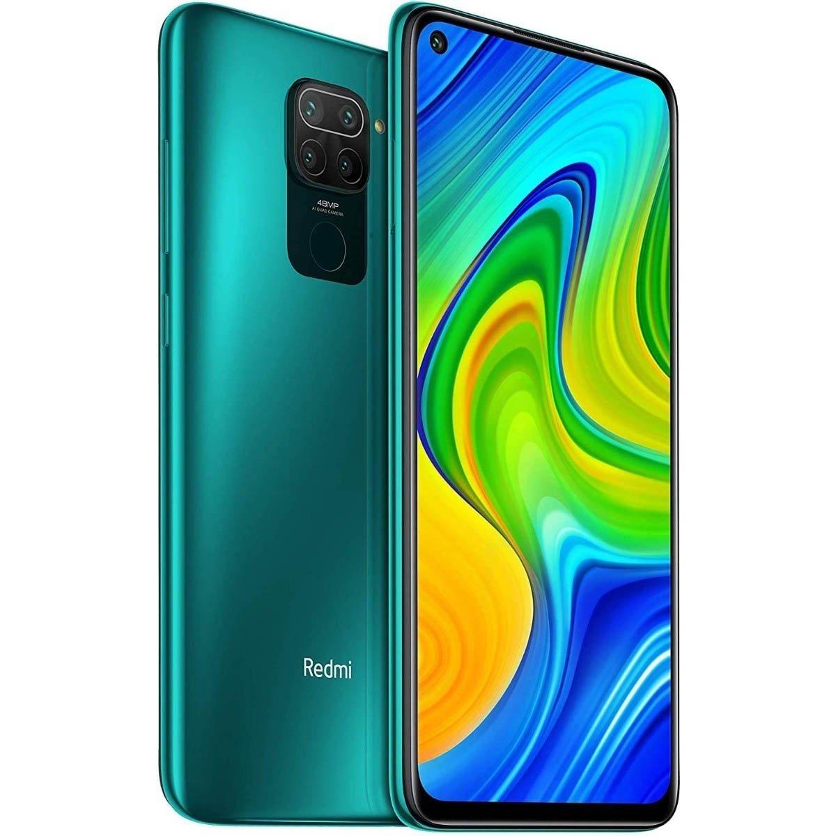 celular xiaomi redmi note 9 128gb 4gb 2 chip verde green 50072 2000 201421