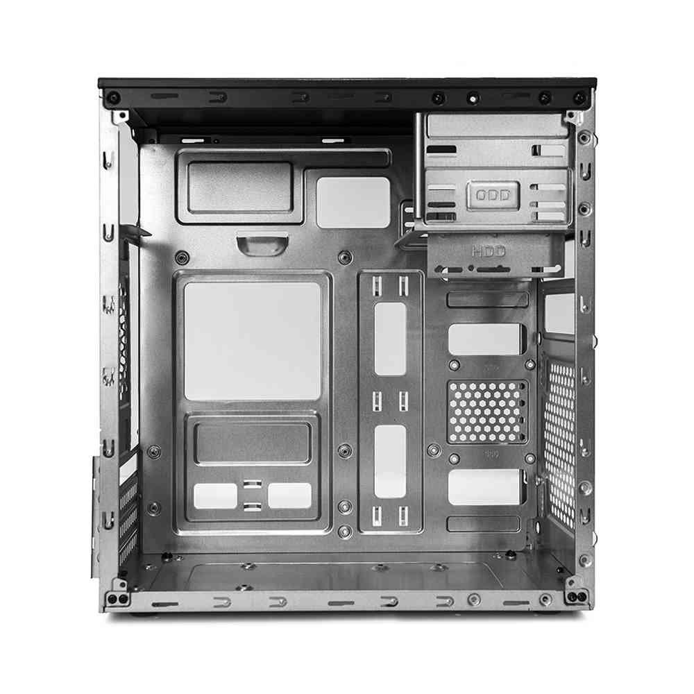 gabinete micro atx mt 11bk com fonte ps 200w c3tech s cabo 50109 2000 201450