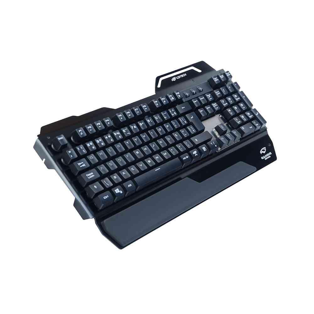 teclado gamer usb kgm 500bk c3tech preto 50165 2000 201574