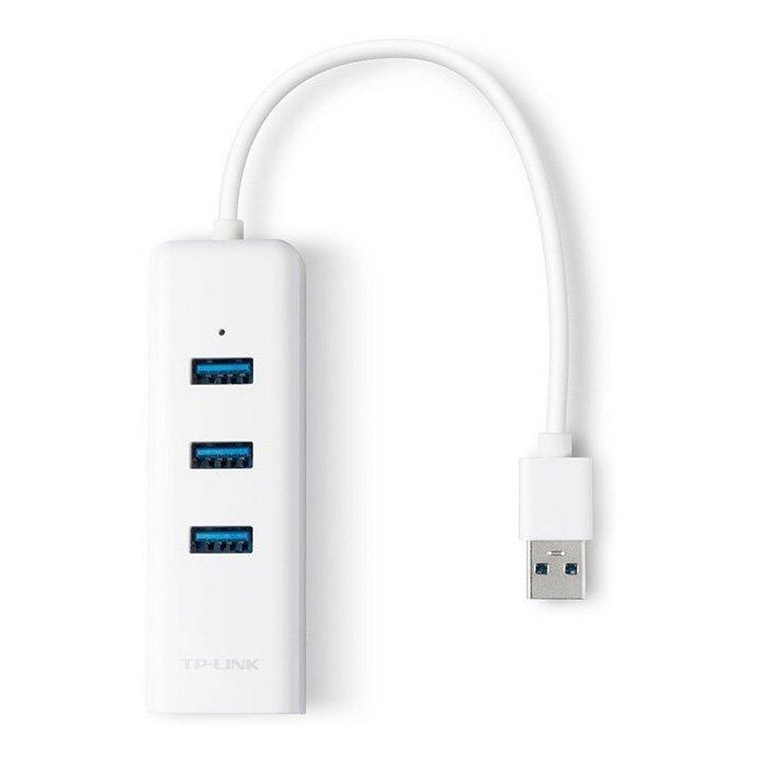 adaptador p rede rj45 com hub usb tp link ue330 49418 2000 201833 1