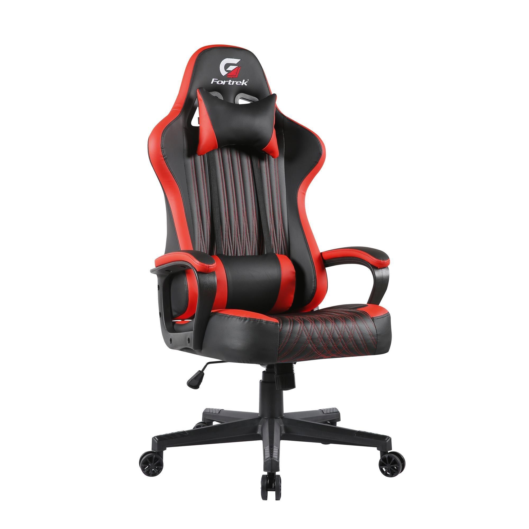 cadeira gamer veja isso fortrek vickers preta vermelha 49729 2000 200825 1