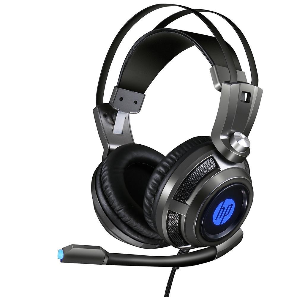 fone de ouvido com microfone gamer 1 p2usb h200 led hp preto 50408 2000 201771 1