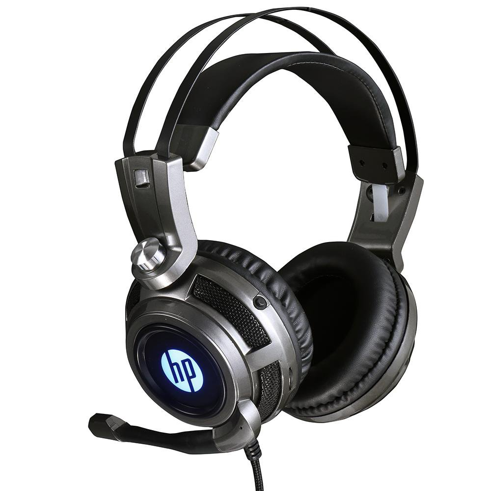 fone de ouvido com microfone gamer 1 p2usb h200 led hp preto 50408 2000 201772 1