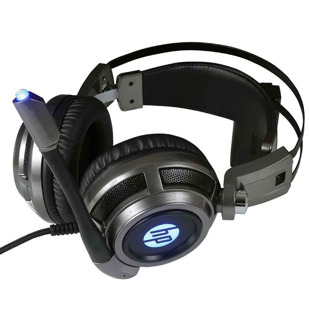 fone de ouvido com microfone gamer 1 p2usb h200 led hp preto 50408 2000 201774 1