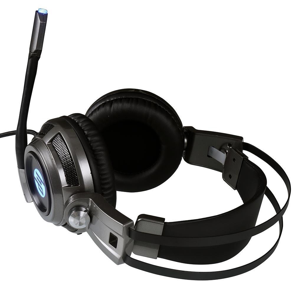 fone de ouvido com microfone gamer 1 p2usb h200 led hp preto 50408 2000 201775 1