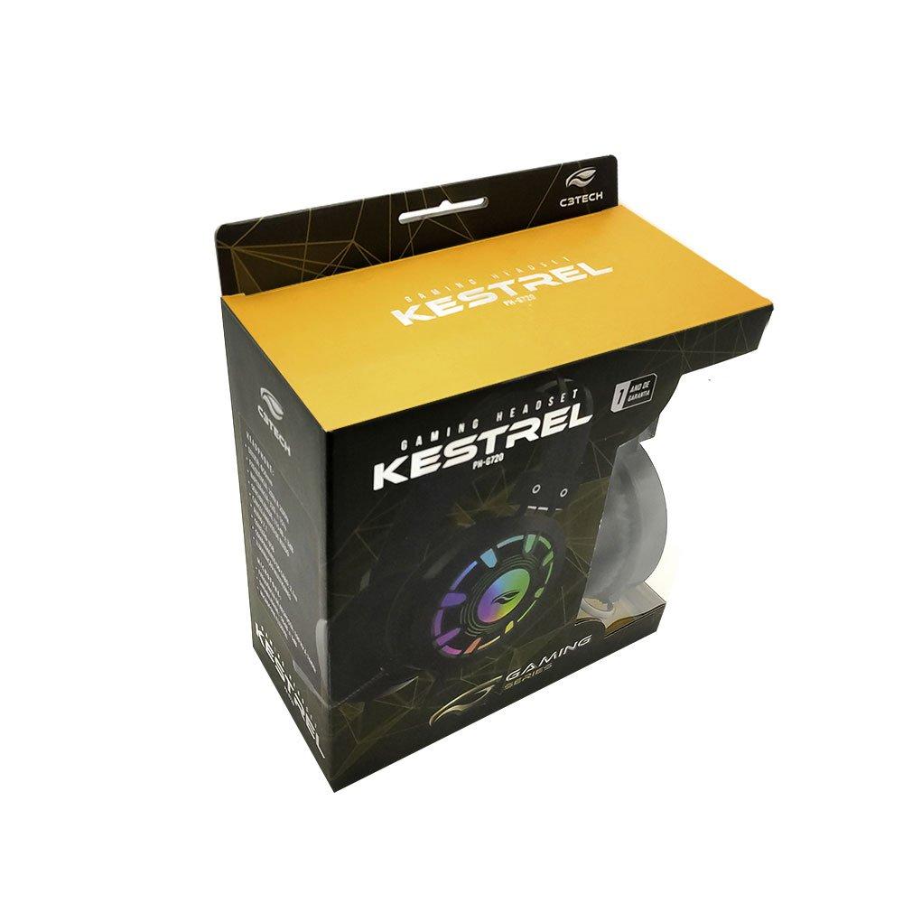 fone de ouvido com microfone gamer usb 71 kestrel ph g720bk c3 tech 50407 2000 201770 1