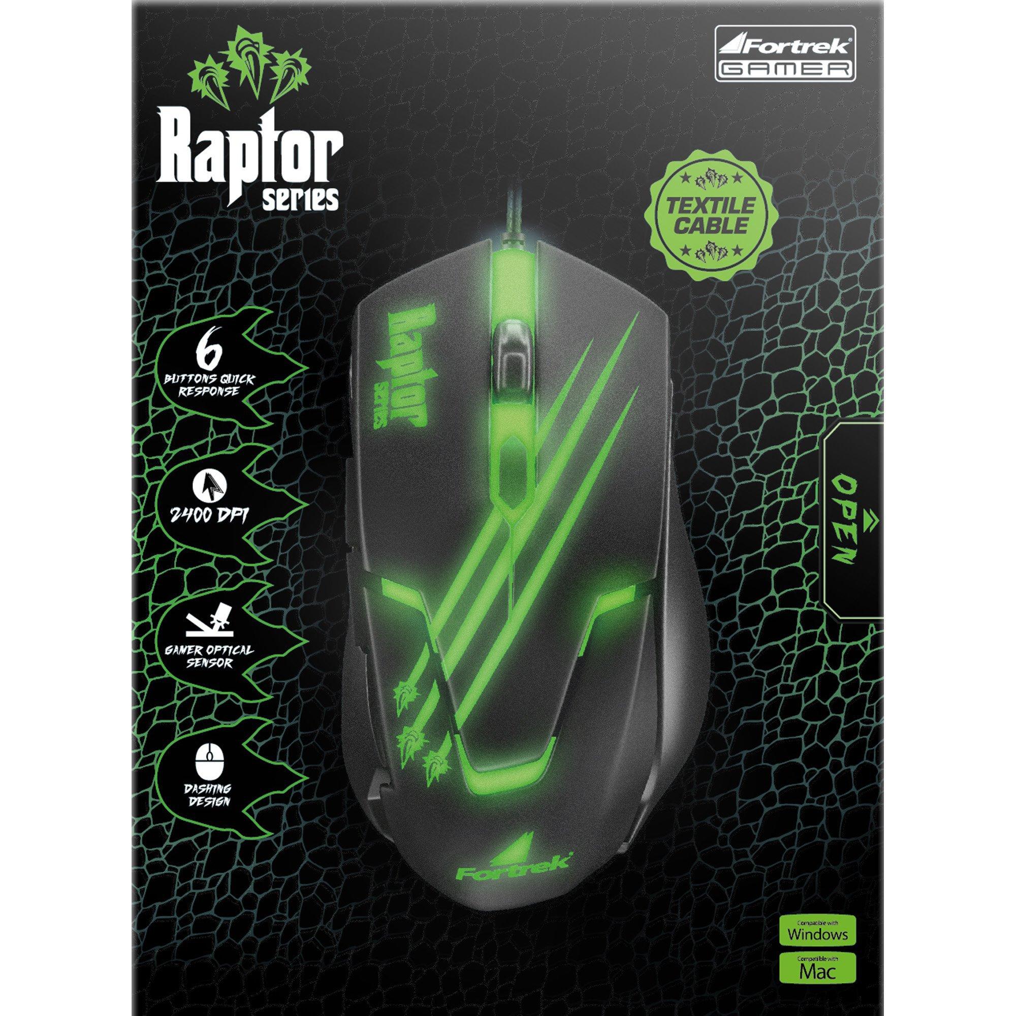 mouse gamer facil preto verde fortrek raptor om 801 usb 3200dpi 42930 2000 181175 1