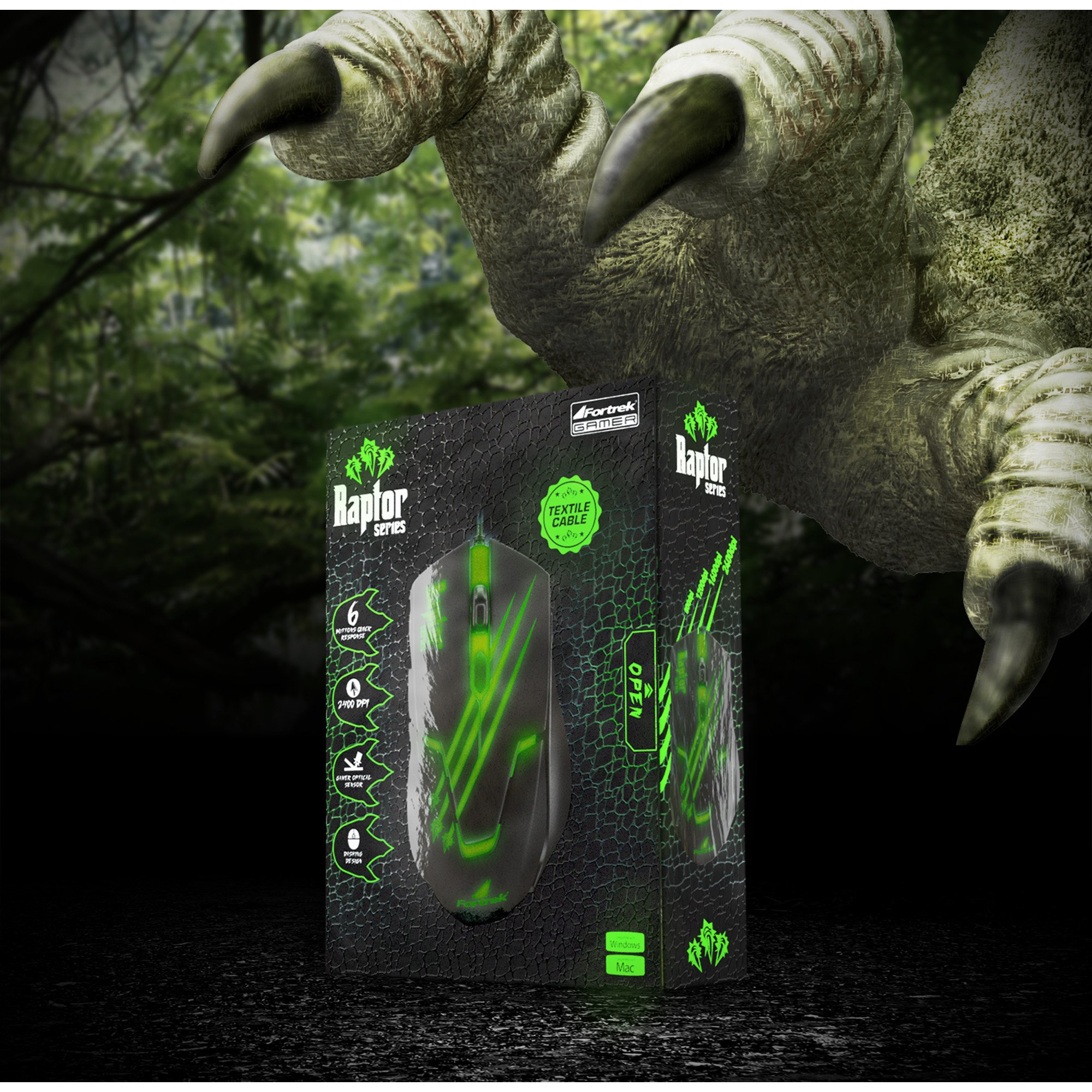 mouse gamer facil preto verde fortrek raptor om 801 usb 3200dpi 42930 2000 181179 1