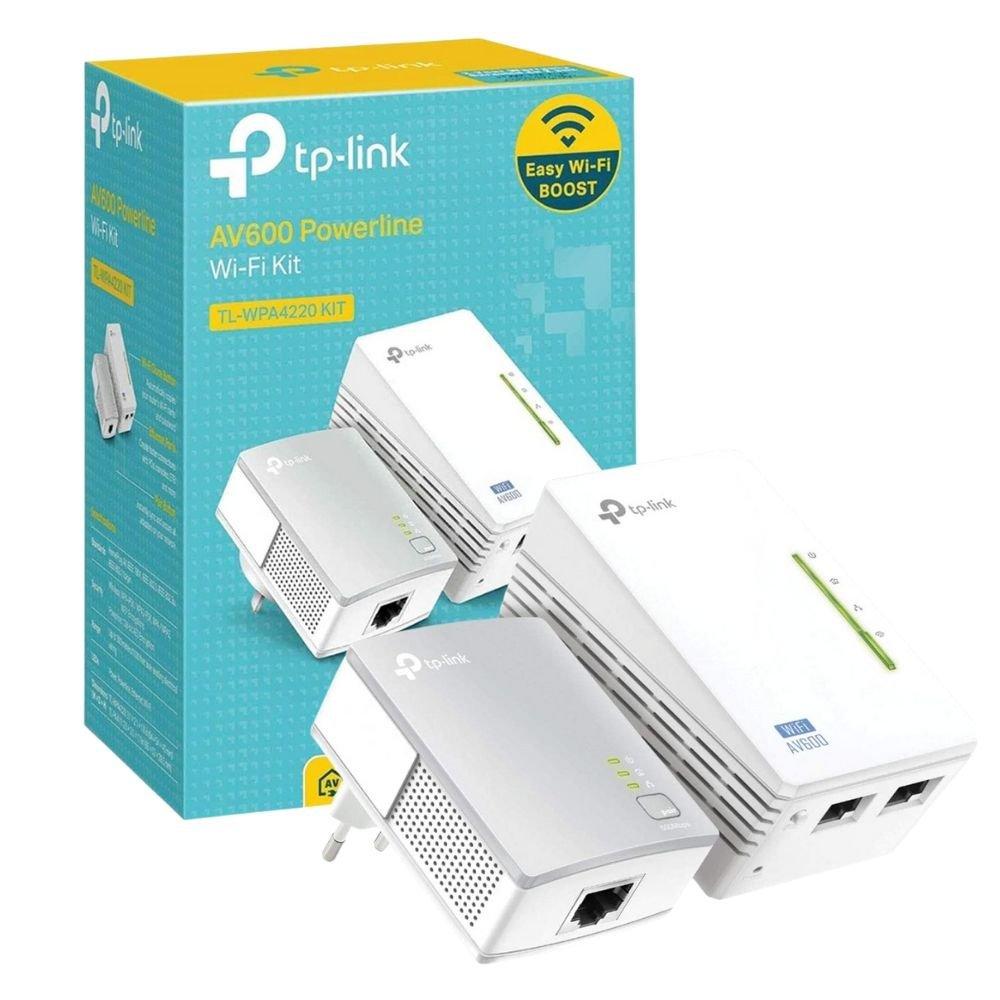 wireless extensor de alcance tp link tl wpa4220 kit pack2 powerline av600mbps 47483 2000 203956 2