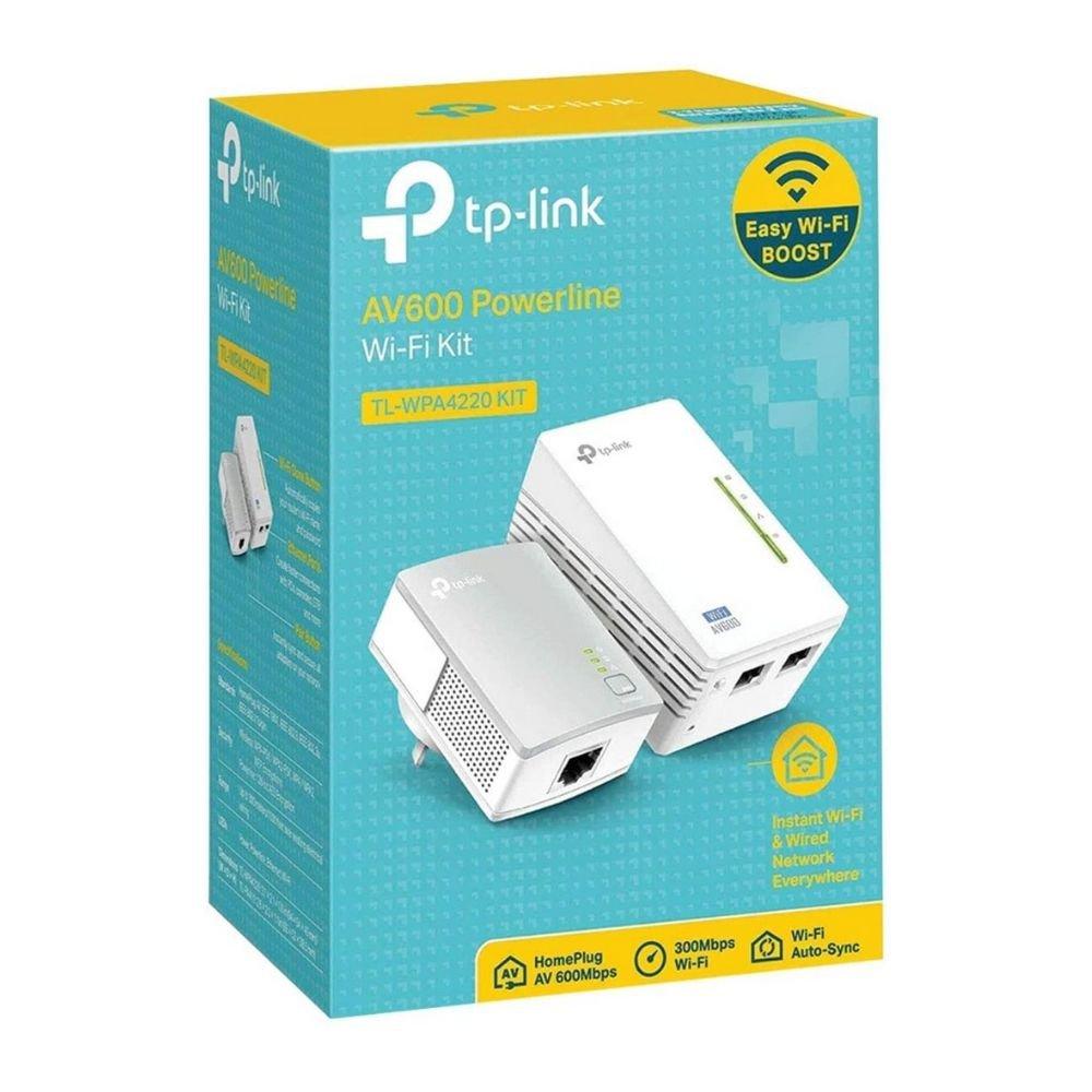 wireless extensor de alcance tp link tl wpa4220 kit pack2 powerline av600mbps 47483 2000 203959 2