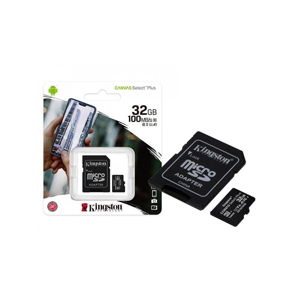micro sd 32gb kingston com adaptador 100mb s 2x1 50454 2000 202657