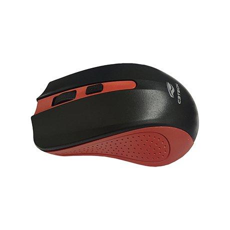 mouse sem fio m w20rd vermelho preto c3tech 43610 2000 191920 1