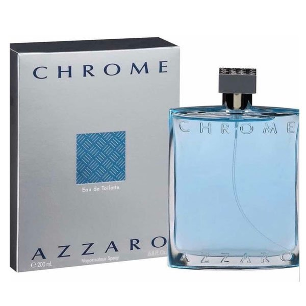 perfume azzaro chrome masculino edt 200 ml 50464 2000 202003