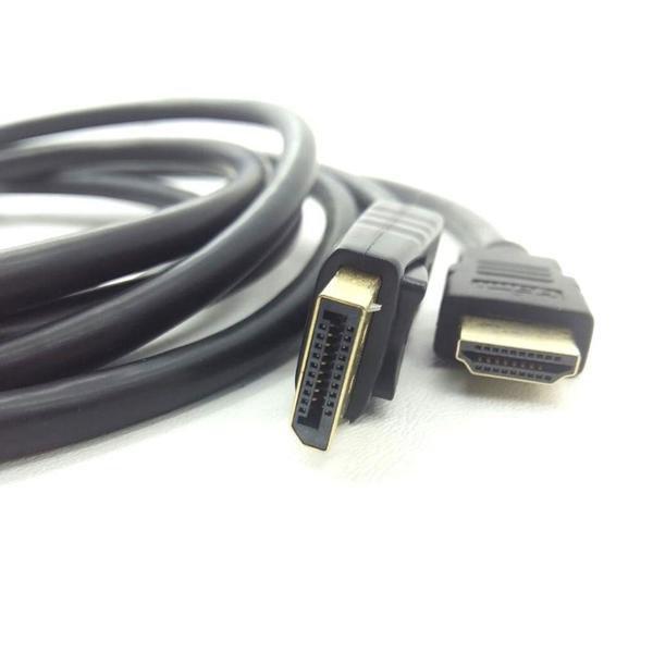 cabo adaptador conversor displayport para hdmi 18 mt jc cb dmi18 50704 2000 202272