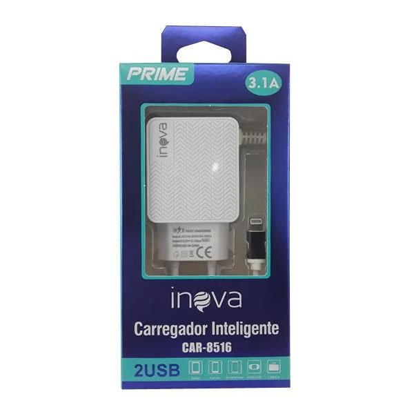 carregador rapido de celular iphone tomada inova 9017 preto 50507 2000 202142 1